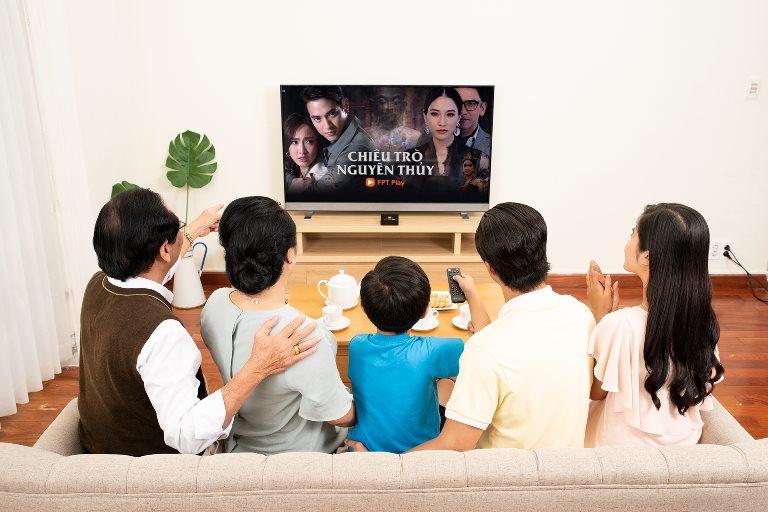 FPT Play đứng đầu dịch vụ xem truyền hình trực tuyến tại Việt Nam