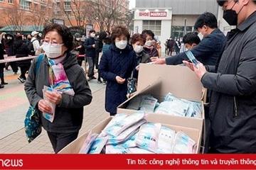 Dân Hàn Quốc theo dõi dữ liệu khẩu trang của các nhà thuốc qua ứng dụng