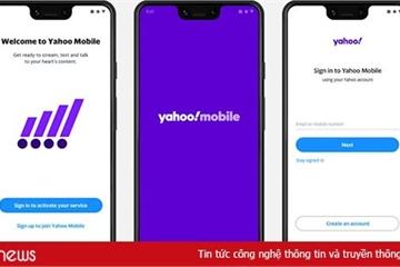 Ra mắt dịch vụ điện thoại Yahoo Mobile, cước 40 USD/tháng