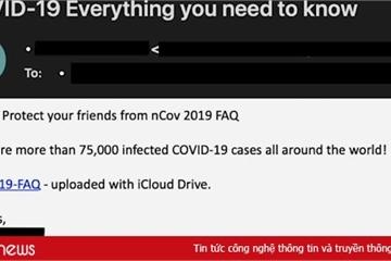 Chuyên gia cảnh báo tội phạm mạng khai thác nỗi hoảng loạn trước Covid-19