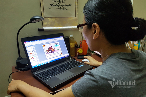 Tâm sự cô giáo U60: Dạy online dễ hơn tưởng tượng