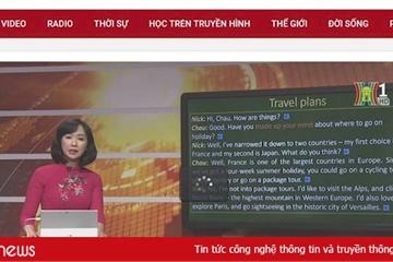 Lịch học trực tuyến trên Đài Truyền hình Hà Nội cuối tuần