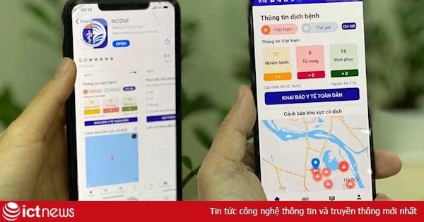 VinaPhone miễn phí data truy cập app NCOVI để hỗ trợ người dân khai báo y tế
