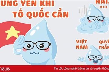 Khuyến cáo phòng COVID-19 của Bộ Y tế được đưa vào sticker trên Zalo