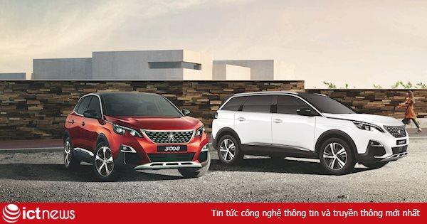 Bộ đôi Peugeot 3008 và 5008 mới bất ngờ xuất hiện tại Việt Nam