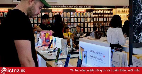 Thị phần smartphone Huawei tại Việt Nam xuống thấp