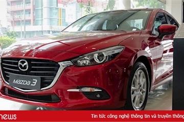 Xe Mazda đang được giảm giá cả trăm triệu đồng