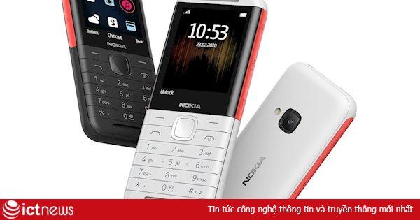 Điện thoại nghe nhạc giá rẻ Nokia 5310 chính thức lên kệ tại Việt Nam, giá chưa đến 1 triệu đồng