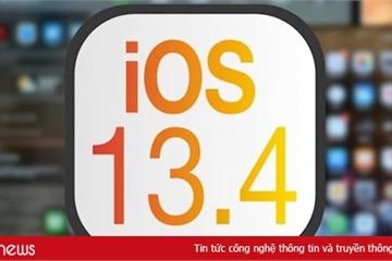 Apple chính thức phát hành iOS 13.4 cho tất cả người dùng