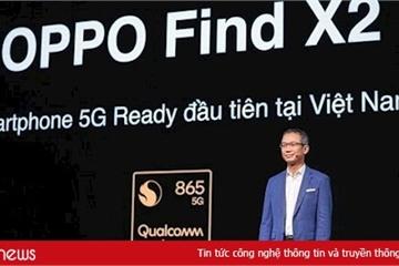 OPPO Find X2 - Flagship smartphone đầu tiên tại Việt Nam sẵn sàng cho tương lai 5G