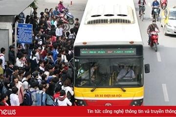 Hà Nội tạm dừng toàn bộ các chuyến xe buýt từ 28/3
