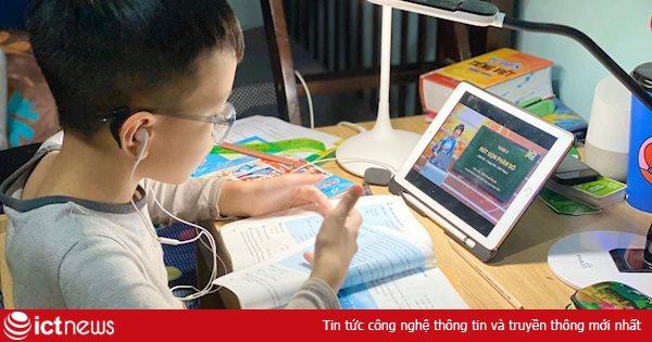 Truyền hình đồng loạt phát lại các bài giảng điện tử phục vụ học sinh trong dịch Covid-19