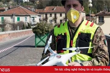 Mục sở thị cảnh sát Italy dùng drone theo dõi công dân vi phạm phong tỏa Covid-19