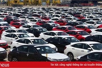 Xe nhập khẩu vào Việt Nam đầu năm 2020 giảm sâu
