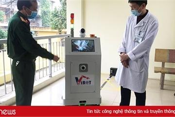Việt Nam chế tạo thành công robot chống dịch Covid-19