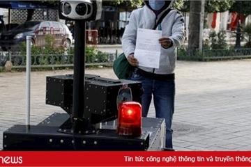 Cận cảnh robot tuần tra của Tunisia trong thời gian phong tỏa vì Covid-19