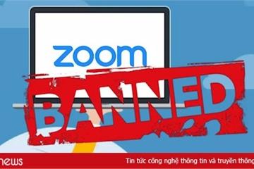 """Những nơi nào """"cấm cửa"""" ứng dụng Zoom và vì sao?"""