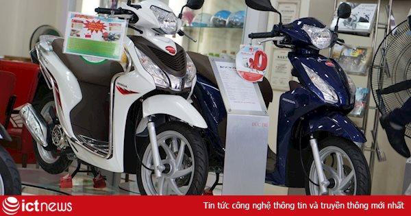 """Doanh số bán xe máy tại Việt Nam giảm, đại lý xe chấp nhận """"bán lỗ"""""""