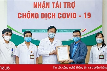 Tập đoàn CMC ủng hộ 3 tỷ đồng cho 3 bệnh viện điều trị Covid-19