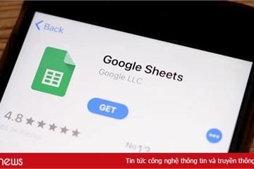 Hướng dẫn sử dụng Google Sheets trên điện thoại