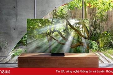 TV Samsung QLED 8K mới tích hợp AI, tăng chất lượng hình ảnh