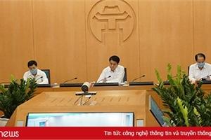 90% các cuộc họp diện rộng của Hà Nội sẽ được thực hiện trực tuyến