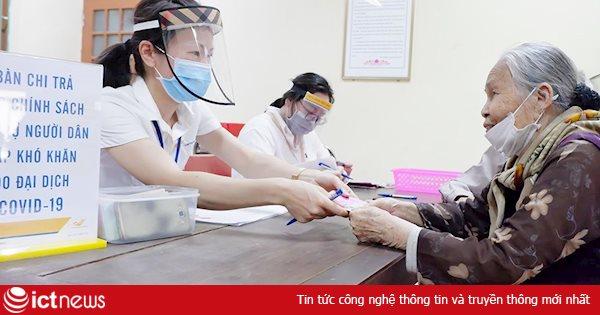 VietnamPost tham gia chi trả gói hỗ trợ các đối tượng bị ảnh hưởng dịch Covid-19