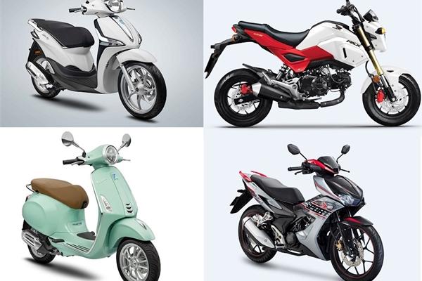 Đại gia xe máy liên tục tung xe mới trong tháng 4