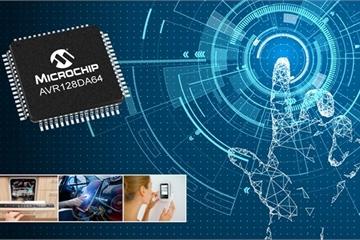 Microchip ra mắt vi điều khiển AVR-DA mới tối đa an toàn dành cho IoT