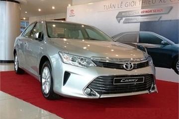 Toyota Việt Nam triệu hồi gần 30.000 xe Camry, Innova và Corolla Atis vì lỗi bơm xăng