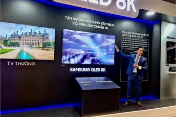 Thêm không gian cho người muốn trải nghiệm TV 8K