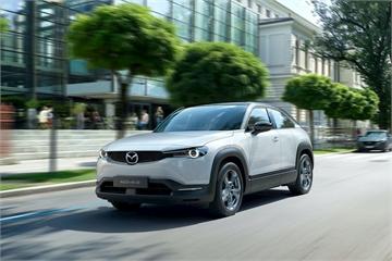 Mazda bắt đầu sản xuất mẫu xe điện đầu tiên