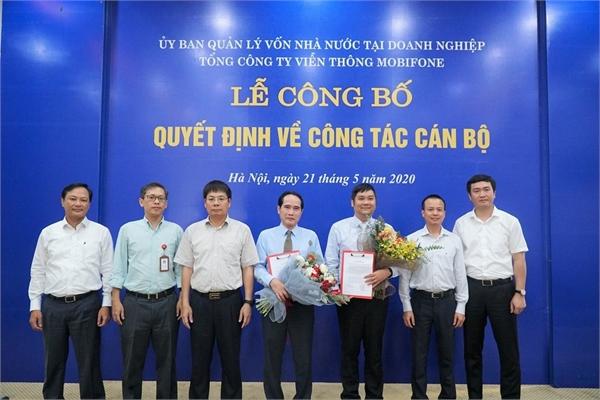 Ủy ban Quản lý vốn nhà nước tại doanh nghiệp bổ nhiệm Kiểm soát viên tại MobiFone