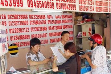 Kỷ luật Chủ tịch, Tổng giám đốc nhà mạng nếu để SIM rác, SIM kích hoạt sẵn bán trên thị trường