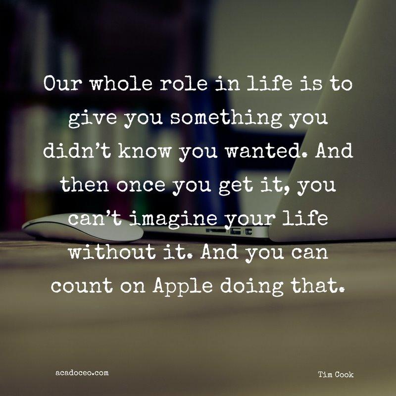 10 câu nói truyền cảm hứng nhất mọi thời đại của CEO Tim Cook - ảnh 8