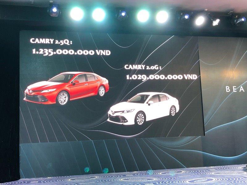 Toyota Camry 2019 ra mắt thị trường Việt, chốt giá rẻ bất ngờ - ảnh 3