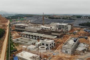 Hà Nội thúc đấu nối điện để vận hành nhà máy điện rác Sóc Sơn
