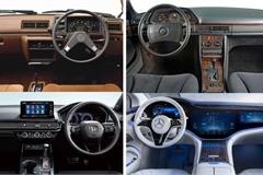 Nội thất của các mẫu xe nổi tiếng thay đổi ra sao qua 40 năm?