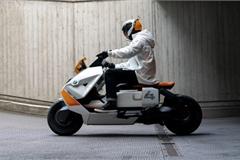 Xe máy điện BMW có thể đạt tốc độ tối đa 130 km/h