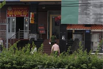 Một đối tượng nghi dùng súng cướp ngân hàng ở Bình Dương