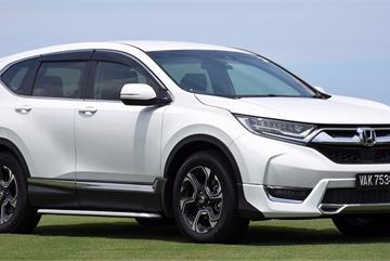 Honda CR-V tiếp tục lao đao vì lỗi chốt cần số ở Đông Nam Á
