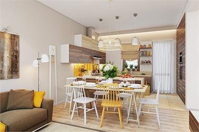 Những mẫu phòng ăn đơn giản, sang trọng vạn người mê