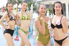 Thí sinh HHVN 2020 nóng bỏng với bikini trong phần thi bơi của 'Người đẹp Thể thao'