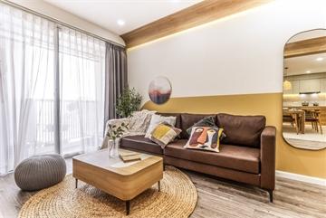 Căn chung cư đẹp cuốn hút của vợ chồng trẻ Hà Nội