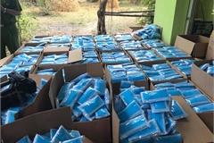 Thu giữ gần 80.000 khẩu trang y tế chưa đủ điều kiện lưu hành