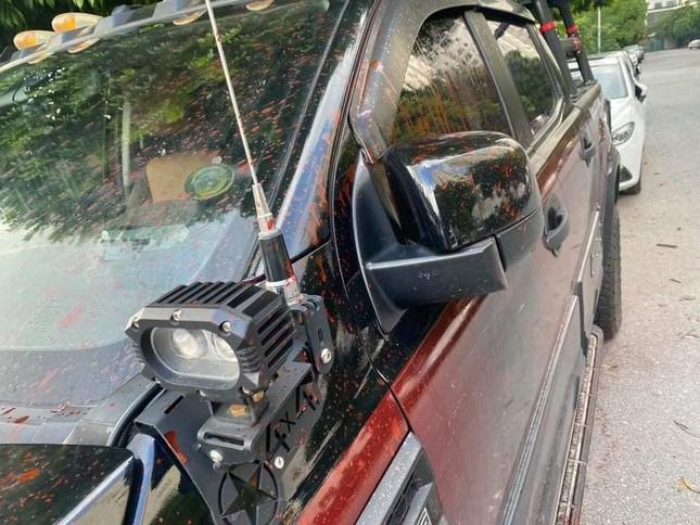 Hà Nội: Hơn chục ô tô bị tạt sơn ở khu đô thị Trung Văn ảnh 1