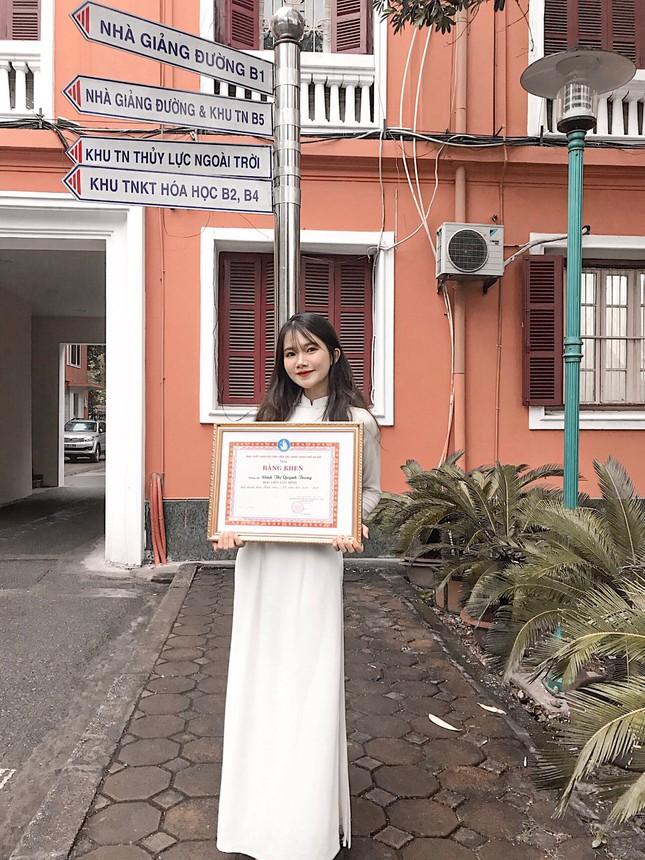 """Quỳnh Trang – Cô gái nhỏ với ý chí """"to"""" của Học viện Tài chính ảnh 4"""