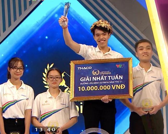 Nam sinh Quảng Bình giành vòng nguyệt quế cuộc thi tuần cuối cùng Olympia 21 ảnh 1