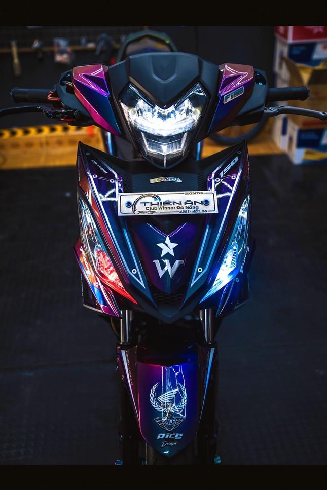 Honda Winner gắn loạt đồ chơi hàng hiệu của biker Đà Nẵng ảnh 3