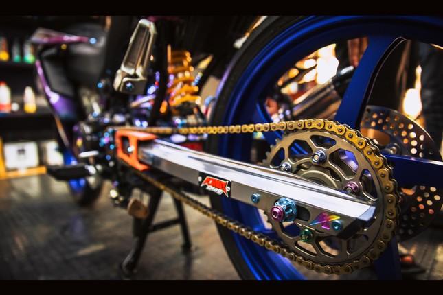Honda Winner gắn loạt đồ chơi hàng hiệu của biker Đà Nẵng ảnh 14